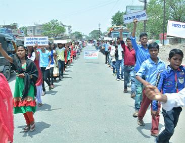 Bal Mitra gram campaigns