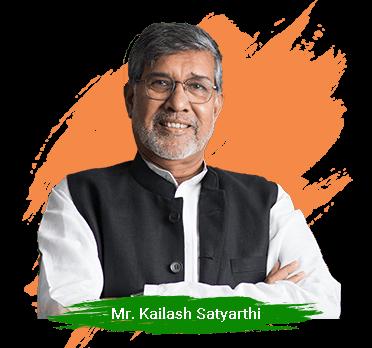 kailash satyarthi about Our Founder - New
