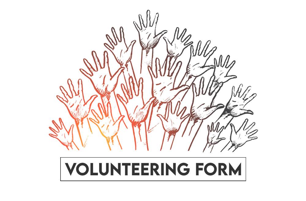 Volunteering form