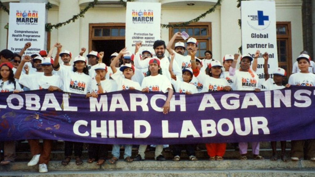 Global Maroh agains's child labour