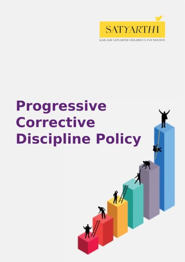 1. Progressive Corrective Discipline Policy KSCF KSCF Policy