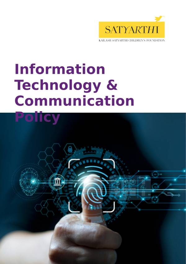 10. Information Technology Communication Policy KSCF KSCF Policy