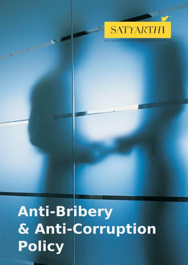 16. Anti Bribery and Anti Corruption Policy KSCF 2 pdf KSCF Policy