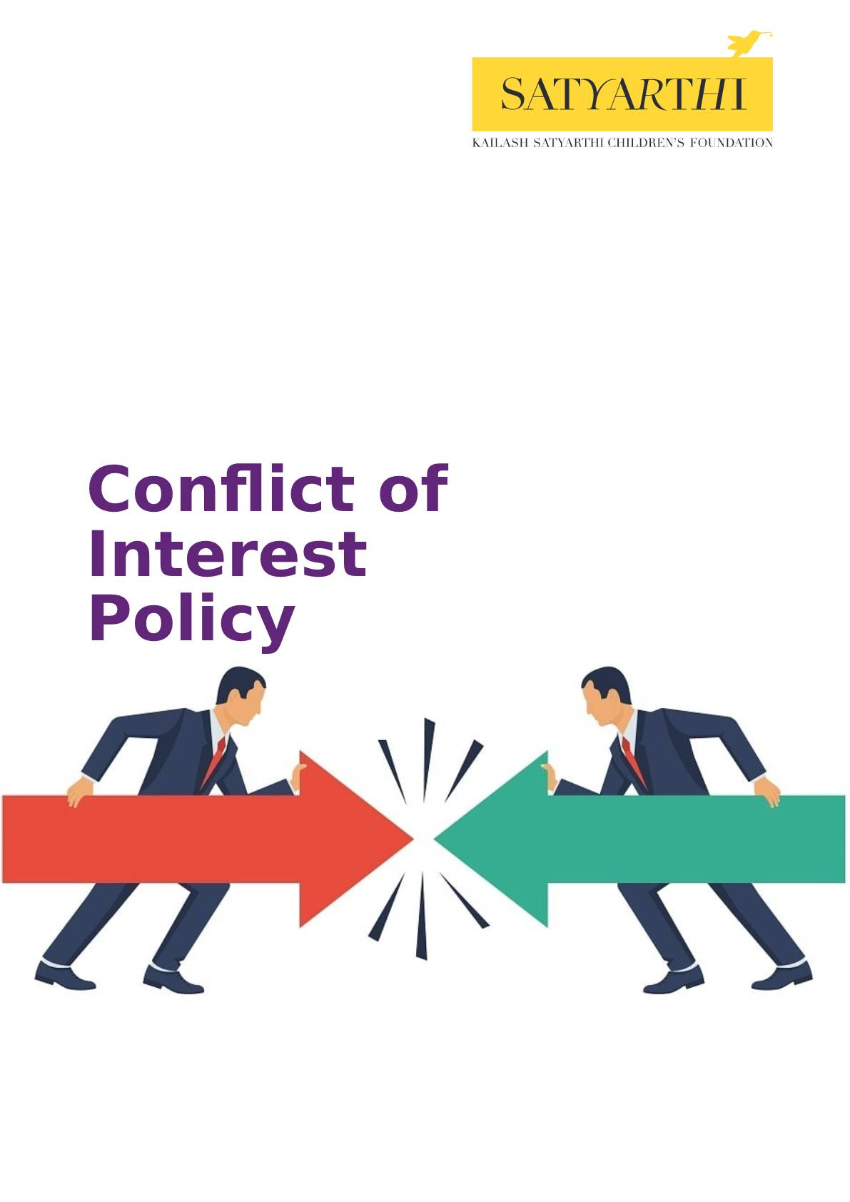 17.Conflict of Interest Policy Declaration KSCF pdf KSCF Policy