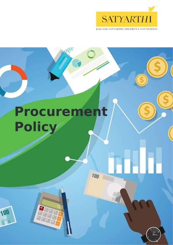 18. Procurement Policy KSCF pdf KSCF Policy
