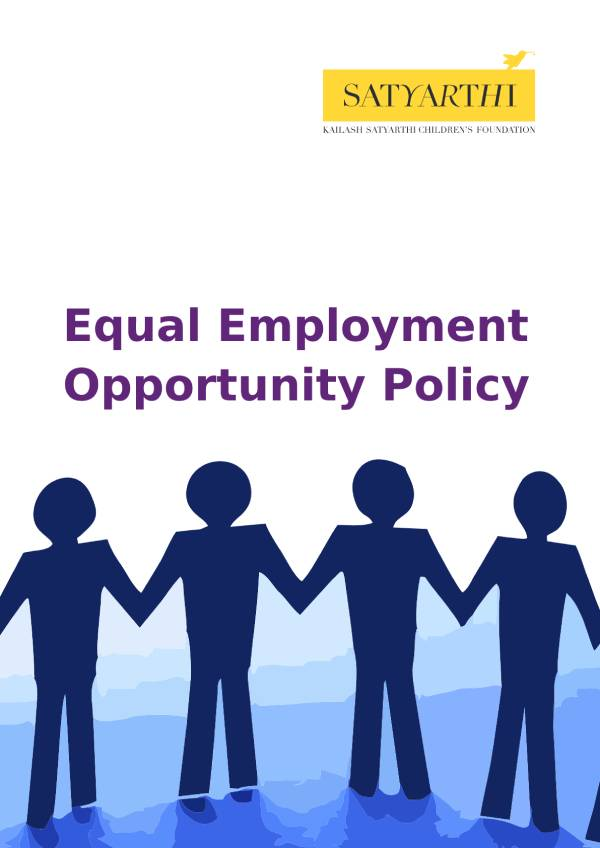4. Equal Employment Opportunity Policy KSCF pdf KSCF Policy