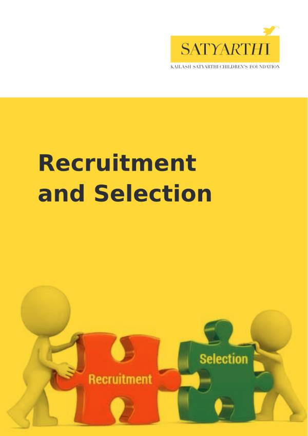 7. Recruitment and Employment Policy KSCF pdf KSCF Policy