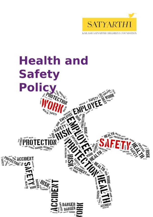 8. Health and Safety at Workplace KSCF pdf KSCF Policy
