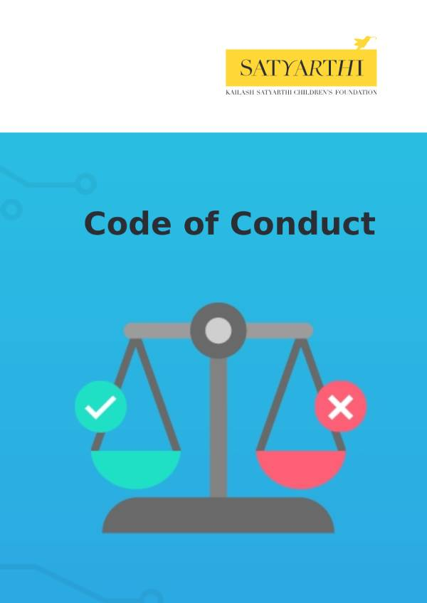 9. Code of Conduct Policy KSCF pdf KSCF Policy