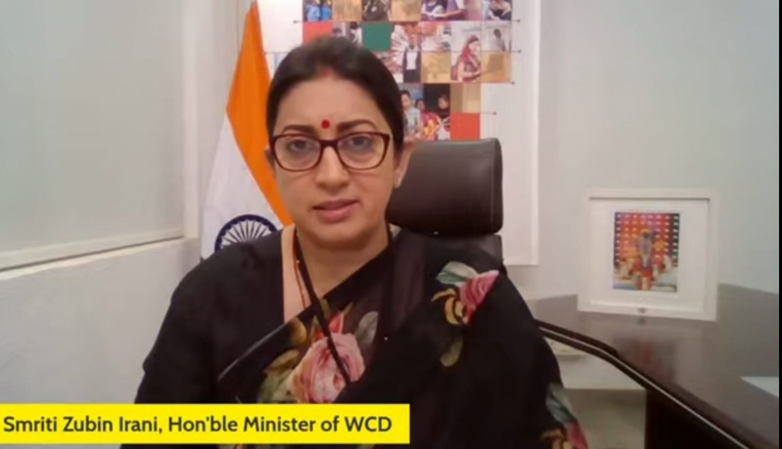 smriti Irani Union Minister Smriti Irani Echoes Nobel Peace Laureate Kailash Satyarthi's Views, Says For The First Time Proposed Bill Looks At Trafficking As An Organised Crime In Its Entirety