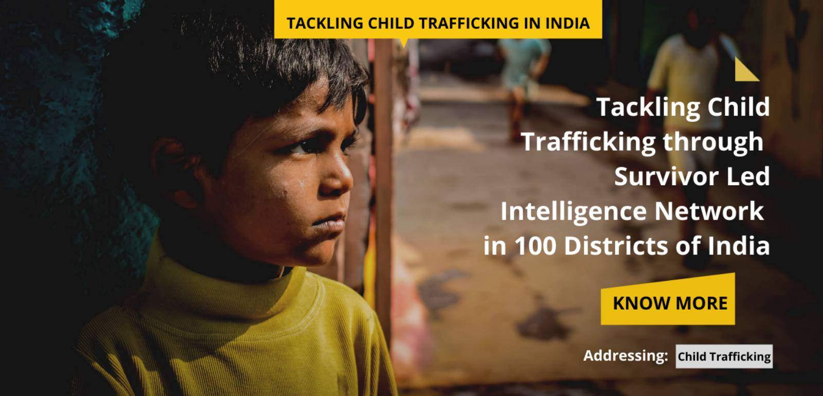 Tackling Child Trafficking in India